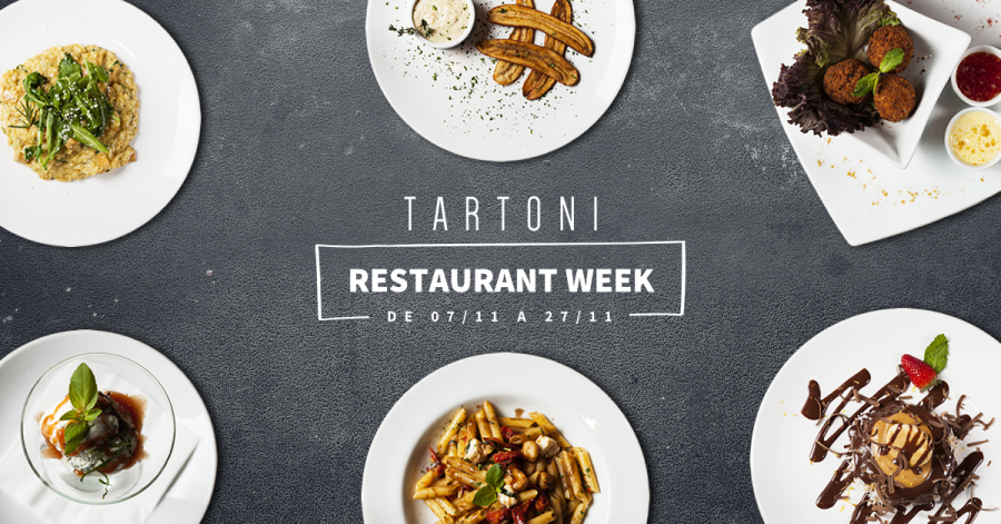 Tartoni no Restaurant Week